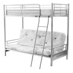 Alaska Futton Bunk Bed Silver