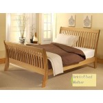 Cordelia Solid Oak Bed