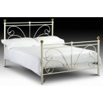 Cadiz Metal Bedstead (Ivory)