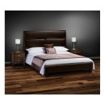 Elite High Head Board Faux Leather bed (Brown)