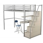 Norwich Stair Way Storage Metal Bunk Bed