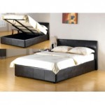 Fusion Storage Faux Leather Bed