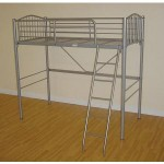 Loft High Sleeper Bunk Bed Silver