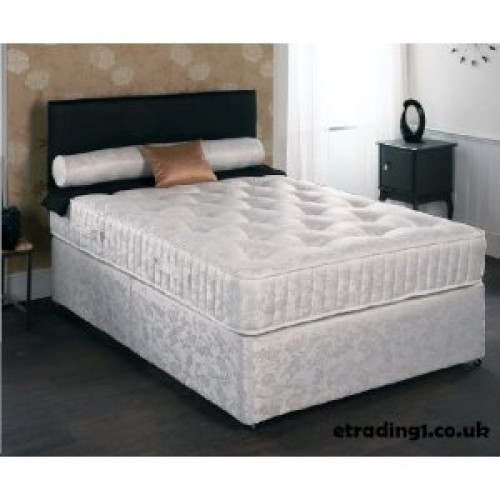 Majestic pocket sprung divan set double 4ft6 for Pocket sprung divan set