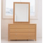 Meridian Dressing Table with Mirror