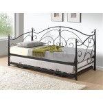 Milano Day Bed + Under bed (Black)