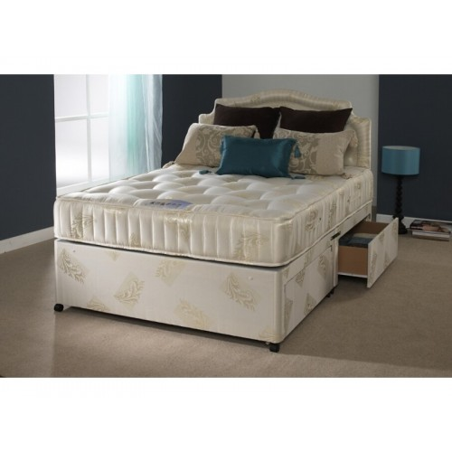 Ortho classic pocket sprung divan set 4ft 4ft6 for Pocket sprung divan set